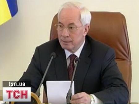 Азаров сделал замечание Балоге