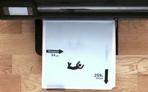 Мультик на принтере