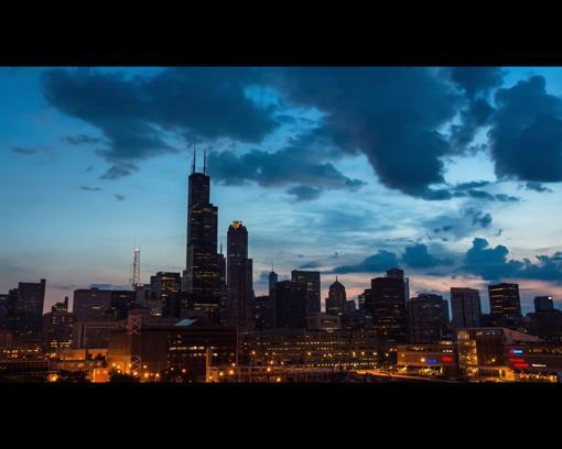 Городской пейзаж Чикаго от Eric Hines