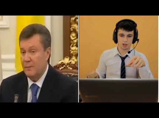 Вся правда о Януковиче и Ёлке :)