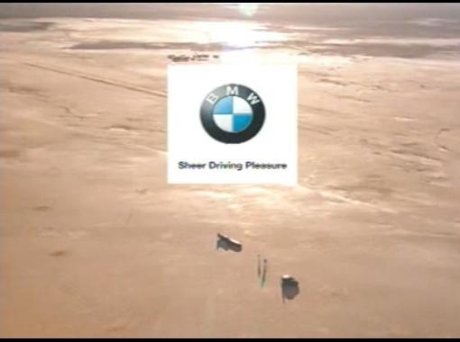 Замечательная реклама спортивной BMW M5