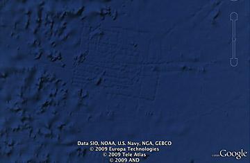 Необычные находки посредством Google Earth