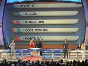 В ЮАР состоялась жеребьевка финальной части чемпионата мира по футболу 2010 года.