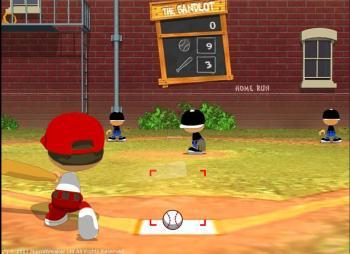 Дворовый бейсбол