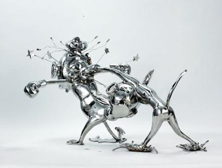 Стальные скульптуры Liao Yibai