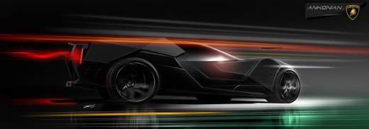 Lamborghini Ankonian от Slavche Tanevski