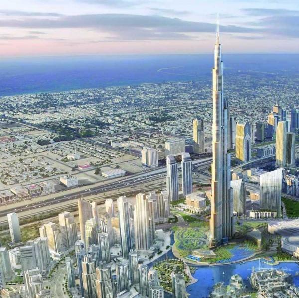 В Дубае открывается самый высокий в мире небоскрёб