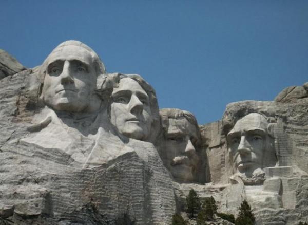 Гора Рашмор (Гора Президентов: памятник в скалах)