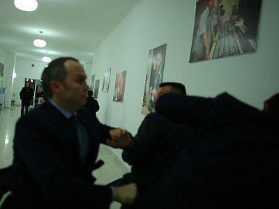 """Шуфрич ударил Луценко. А потом требовал продолжения """"банкета"""" (ВИДЕО)"""