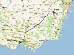 Австралиец промахнулся мимо магазина на 600 км