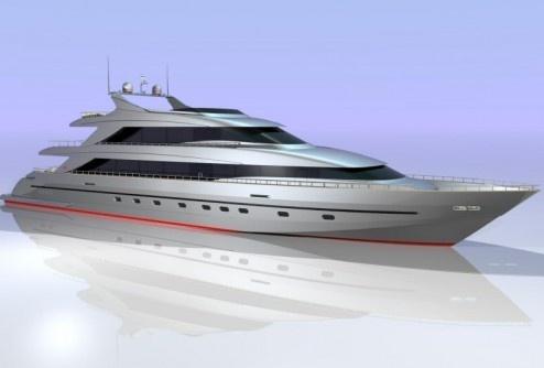 Самая большая в мире трехпалубная яхта скоро отправится в первое плавание