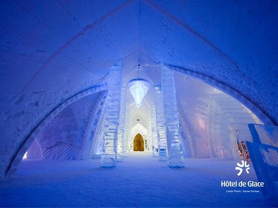 В Канаде снова откроют ледяной отель
