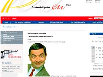 Хакеры назначили мистера Бина испанским премьером
