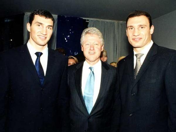 Братья Кличко — счастливчики из Украины. Фото