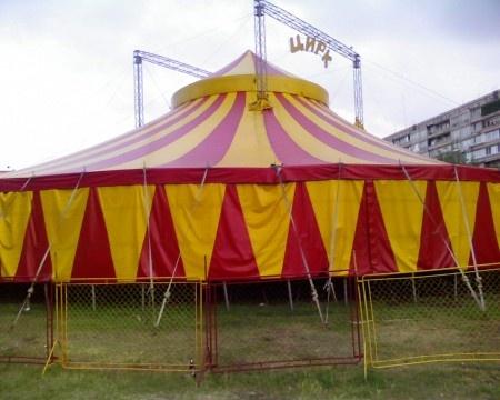 В цирке рухнула трибуна со зрителями