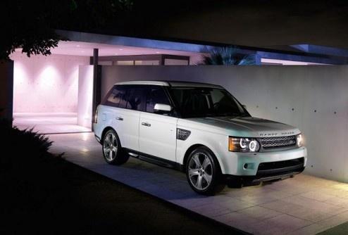 Обновленный Range Rover Sport 2010 года