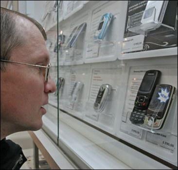 В Украине закрываются магазины, торгующие мобилками