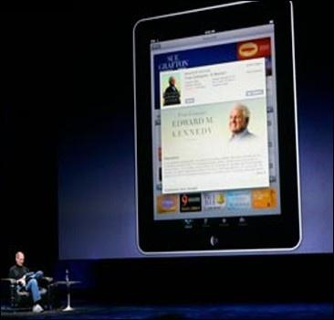 Стив Джобс представил гибрид ноутбука и смартфона.