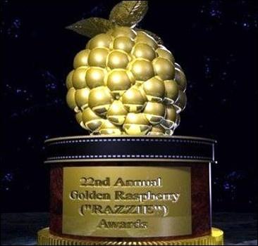 """""""Золотая малина"""" - самые сомнительные достижения в кино"""