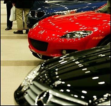 Ввоз в Украину импортных автомобилей резко сократился