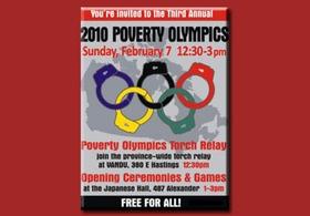 Бомжи устроили в Ванкувере свою Олимпиаду