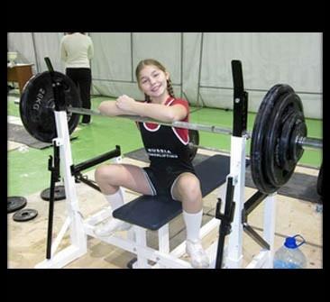 10-летняя девочка установила новый рекорд в пауэрлифтинге