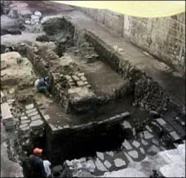 В столице обнаружен неизвестный храм ацтеков