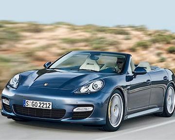 Porsche готовит открытую версию модели Panamera