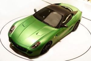 Первые снимки гибридного Ferrari