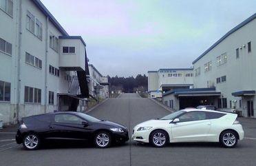 Honda CR-Z от HKS