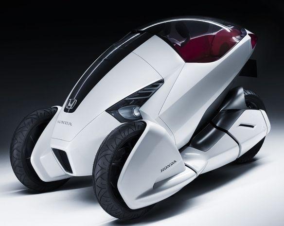 Honda представит свое видение персонального автомобиля будущего