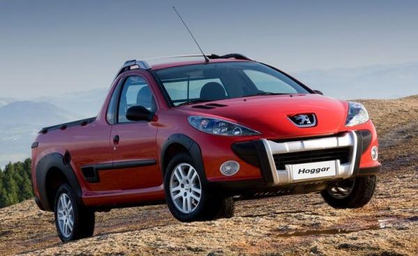 Компания Peugeot представила новый небольшой пикап