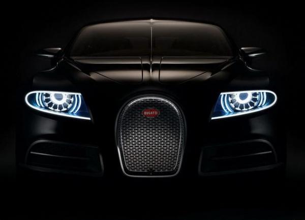Компания Bugatti опубликовала новые фотографии седана 16C Galibier