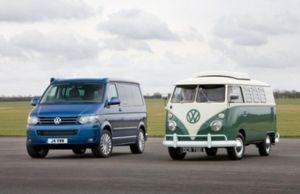 Минивэну Volkswagen Transporter исполнилось 60 лет