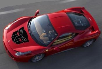 Ferrari 458 Italia примкнет к Трансформерам