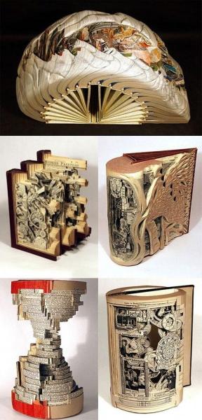 Резьба… по книгам! ФОТО