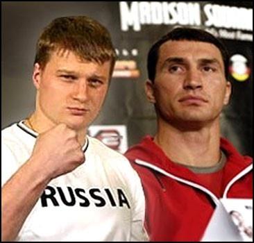 Кличко и Поветкин начали переговоры