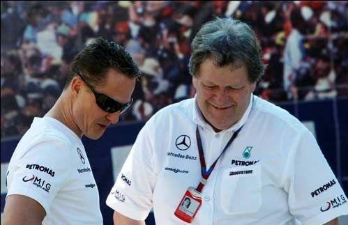 Норберт Хауг: Шумахер по-прежнему очень хорош