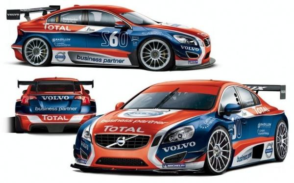 Volvo подготовила седан S60 для участия в бельгийском гоночном чемпионате
