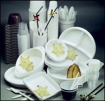 Пластиковая посуда - прямой путь на кладбище