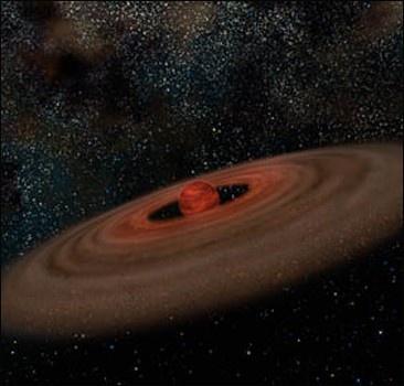 В космосе найден недоразвитый коричневый карлик