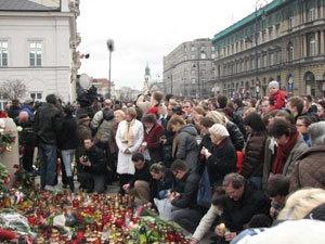 Польша прощается с жертвами крушения Ту-154