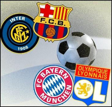 Лига чемпионов: кто с кем сразится в матчах полуфинала