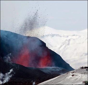 Вулкан не сдается