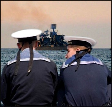 Флоты Украины и России вместе отрепетировали парад