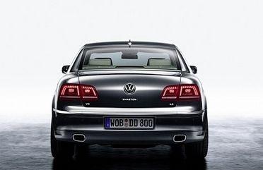 Новый VW Phaeton - официальные фото