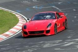 Ferrari 599XX преодолела 7-минутный барьер на Нюрбургринге, установив новый рекорд.