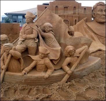 Скульптуры… из песка. ФОТО