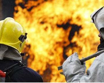 В Днепропетровске сгорел рынок