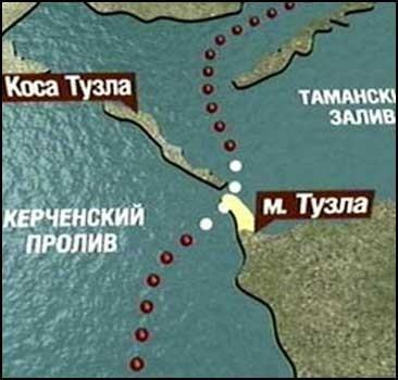 Украину и Россию соединят мостом